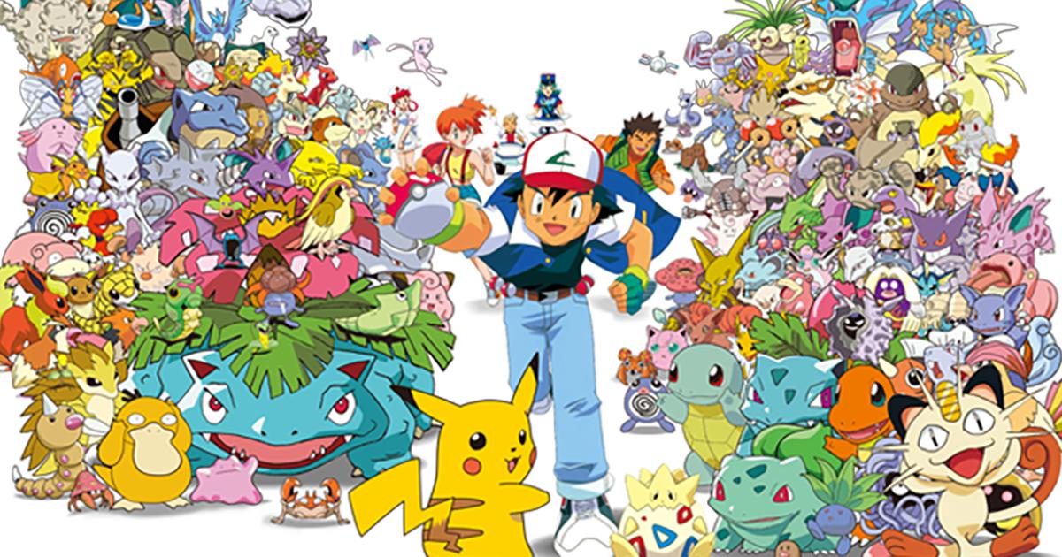 Pokémon the Series: The Beginning | TV Anime series | The ...