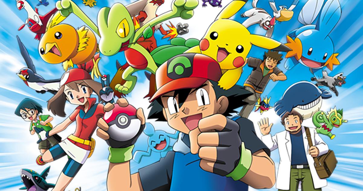Pokémon Advanced | TV Anime series | The official Pokémon