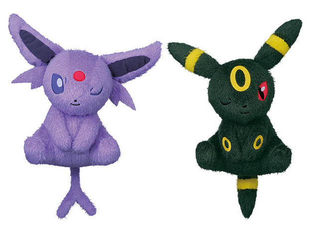 37851_POKEMON SUN _ MOON RELAXING TIME BIG PLUSH-ESPEON, UMBREON-.jpg