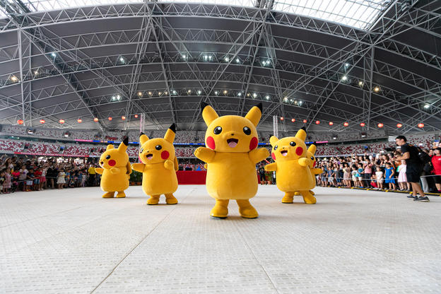 Pikachu at Japan Summer Festival 2019