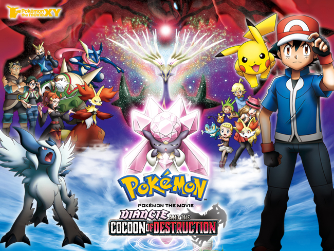 Pokemon The Movie Diancie And The Cocoon Of Destruction Movie