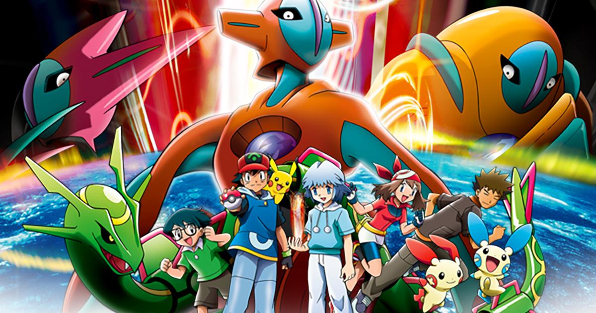 Pokémon: Destiny Deoxys | Movie | The official Pokémon Website in