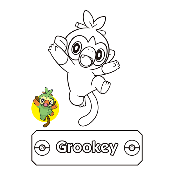 Pokemon Coloring Page The Official Pokemon Website In Singapore